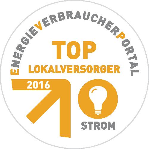 Auszeichnung - Lokaler Topversorger 2015